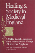 Healing and Society in Medieval England Cover