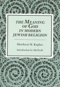 The Meaning of God in Modern Jewish Religion cover