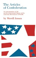 The Articles of Confederation Cover
