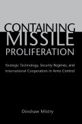 Containing Missile Proliferation Cover
