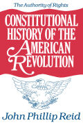 Constitutional History of the American Revolution, Volume I cover