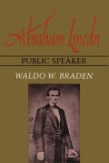 Abraham Lincoln, Public Speaker Cover