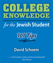 College Knowledge for the Jewish Student
