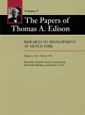 The Papers of Thomas A. Edison: Research to Development at Menlo Park, January 1879-March 1881