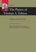 The Papers of Thomas A. Edison cover
