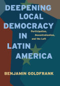 Deepening Local Democracy in Latin America Cover