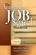 The Academic Job Search Handbook Cover