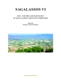 Sagalassos VI: Geo- and Bio-Archaeology at Sagalassos and in its Territory