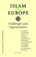 Islam & Europe: Challenges and Opportunities