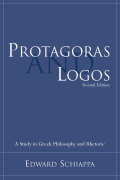 Protagoras and Logos cover