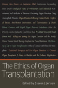 The Ethics of Organ Transplantation Cover