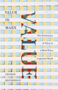 Value in Marx Cover