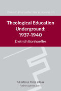 Theological Education Underground: 1937-1940