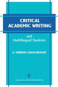 Critical Academic Writing and Multilingual Students Cover