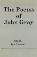 The Poetry of John Gray Cover