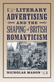 Literary Advertising and the Shaping of British Romanticism