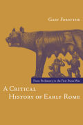 A Critical History of Early Rome Cover