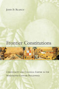 Frontier Constitutions Cover