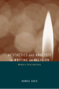 Aesthetics and Analysis in Writing on Religion Cover