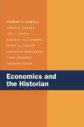 Economics and the Historian Cover