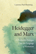 Heidegger and Marx Cover