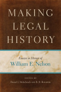 Making Legal History cover