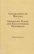 Geographies of Writing cover