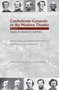 Confederate Generals in the Western Theater, volume 3 Cover