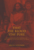 That the Blood Stay Pure Cover