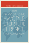 From Francophonie to World Literature in French Cover