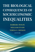 The Biological Consequences of Socioeconomic Inequalities Cover