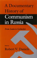 Documentary History of Communism in Russia Cover