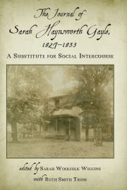 The Journal of Sarah Haynsworth Gayle, 1827–1835