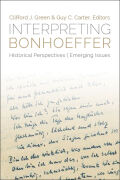 Interpreting Bonhoeffer cover