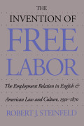 The Invention of Free Labor Cover