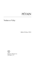 Petain Cover