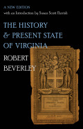 The History and Present State of Virginia Cover