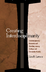 Creating Interdisciplinarity