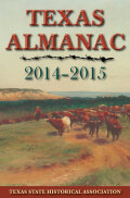 Texas Almanac 2014–2015 cover