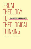 From Theology to Theological Thinking Cover