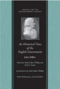 An Historical View of English Government Cover