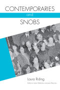 Contemporaries and Snobs