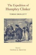 The Expedition of Humphry Clinker Cover
