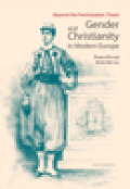 Gender and Christianity in Modern Europe Cover