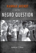 Hannah Arendt and the Negro Question Cover