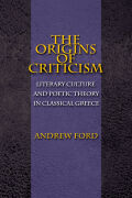 The Origins of Criticism Cover