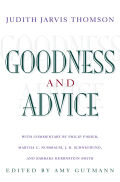 Goodness and Advice Cover