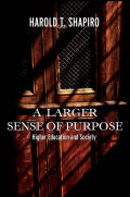 A Larger Sense of Purpose Cover