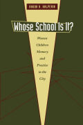 Whose School Is It? Cover