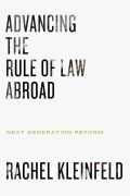 Advancing the Rule of Law Abroad Cover